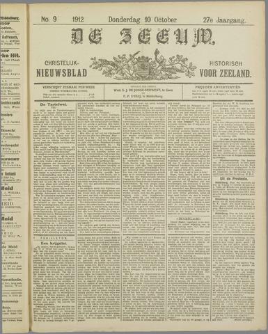 De Zeeuw. Christelijk-historisch nieuwsblad voor Zeeland 1912-10-10