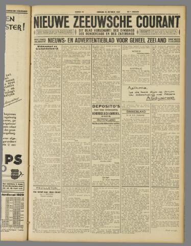 Nieuwe Zeeuwsche Courant 1929-10-15