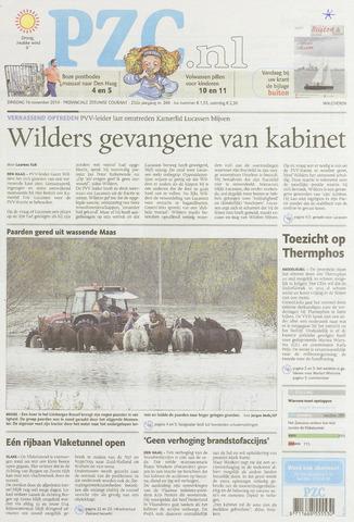 Provinciale Zeeuwse Courant 2010-11-16