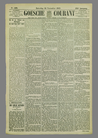 Goessche Courant 1917-11-24