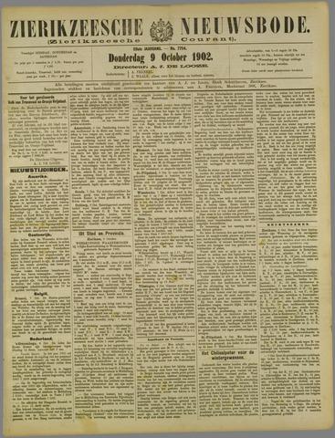 Zierikzeesche Nieuwsbode 1902-10-09