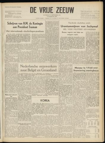 de Vrije Zeeuw 1951-09-22
