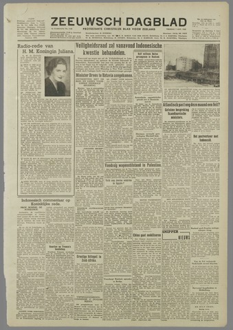 Zeeuwsch Dagblad 1949-01-07