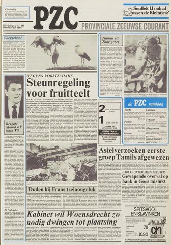 Provinciale Zeeuwse Courant 1985-07-09