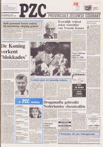 Provinciale Zeeuwse Courant 1989-09-09