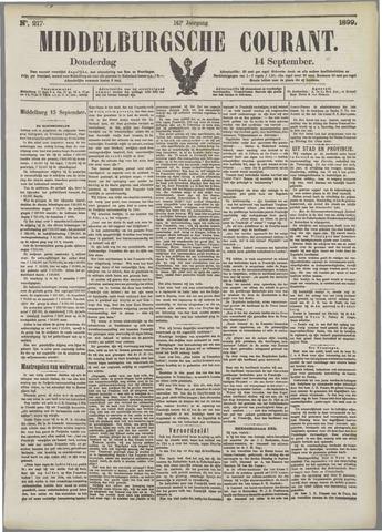 Middelburgsche Courant 1899-09-14