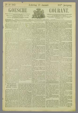 Goessche Courant 1915-01-23