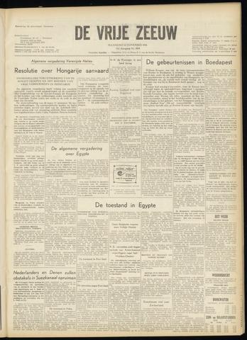 de Vrije Zeeuw 1956-11-12