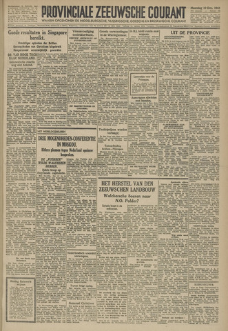 Provinciale Zeeuwse Courant 1945-12-10