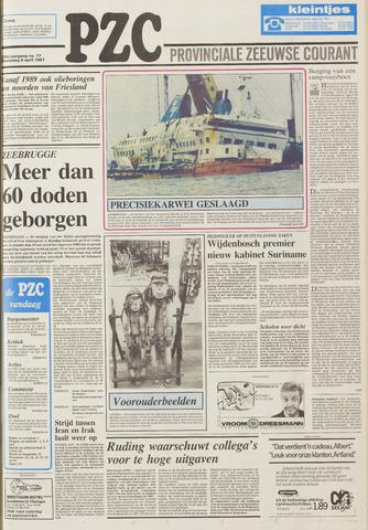 Provinciale Zeeuwse Courant 1987-04-08