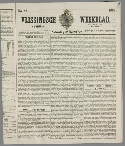 Vlissings Weekblad 1863-12-12