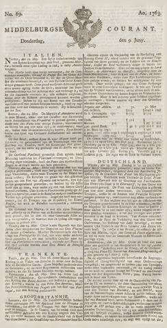 Middelburgsche Courant 1763-06-09