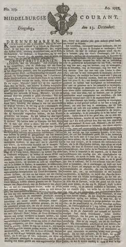Middelburgsche Courant 1777-12-23