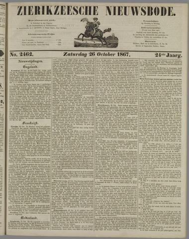Zierikzeesche Nieuwsbode 1867-10-26