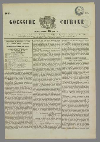 Goessche Courant 1853-03-10