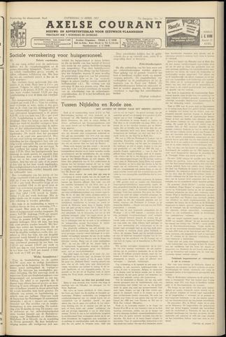 Axelsche Courant 1957-04-13