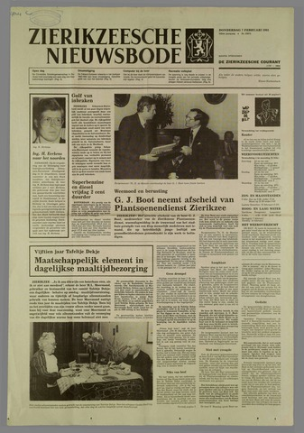Zierikzeesche Nieuwsbode 1985-02-07