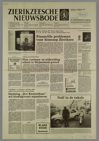 Zierikzeesche Nieuwsbode 1984-02-17