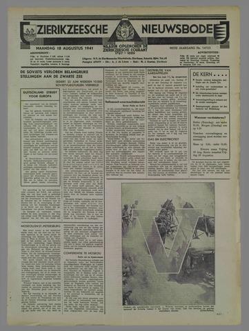 Zierikzeesche Nieuwsbode 1941-08-19