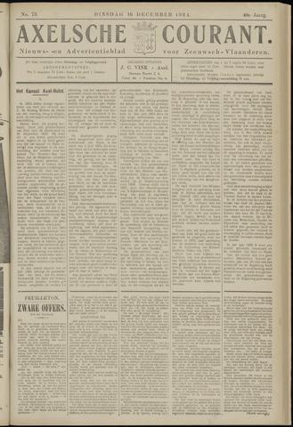 Axelsche Courant 1924-12-16