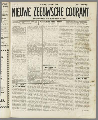 Nieuwe Zeeuwsche Courant 1907-01-08
