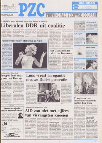 Provinciale Zeeuwse Courant 1990-07-25