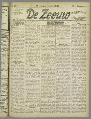 De Zeeuw. Christelijk-historisch nieuwsblad voor Zeeland 1921-06-01