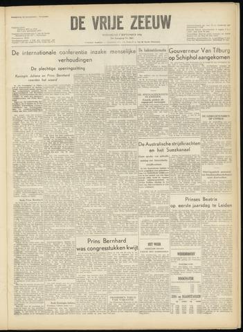 de Vrije Zeeuw 1956-09-05