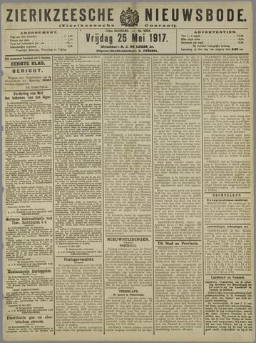 Zierikzeesche Nieuwsbode 1917-05-25