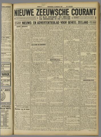 Nieuwe Zeeuwsche Courant 1927-08-18
