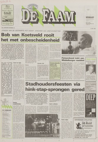 de Faam en de Faam/de Vlissinger 1992-06-03