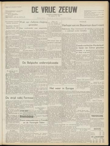 de Vrije Zeeuw 1955-02-22