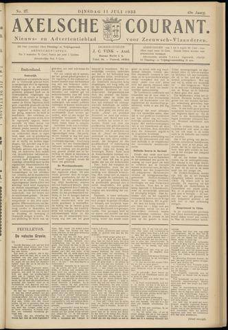 Axelsche Courant 1933-07-11
