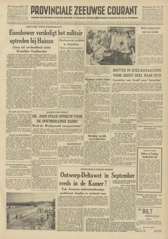 Provinciale Zeeuwse Courant 1954-07-29