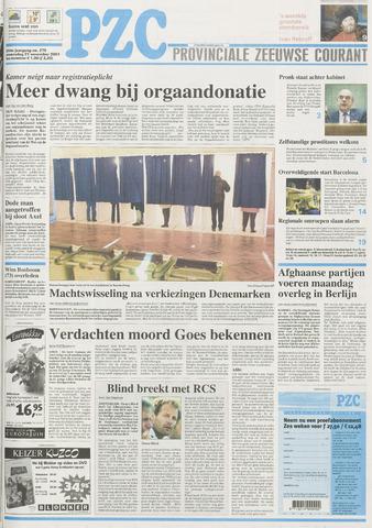 Provinciale Zeeuwse Courant 2001-11-21