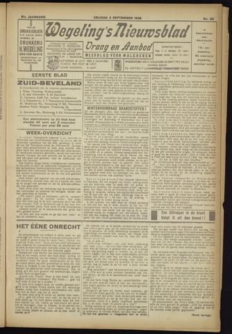 Zeeuwsch Nieuwsblad/Wegeling's Nieuwsblad 1925-09-04