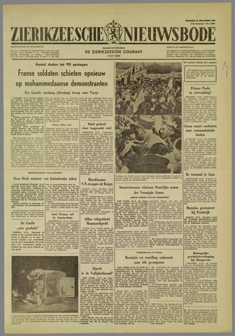 Zierikzeesche Nieuwsbode 1960-12-13