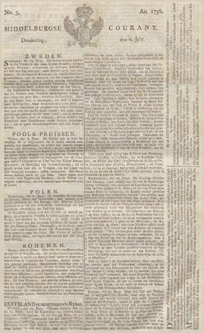 Middelburgsche Courant 1758-07-06