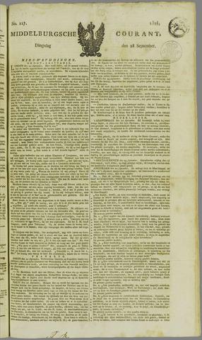Middelburgsche Courant 1824-09-28