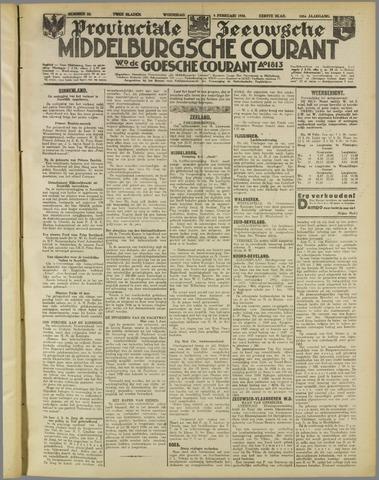 Middelburgsche Courant 1938-02-09