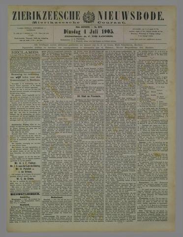 Zierikzeesche Nieuwsbode 1905-07-04