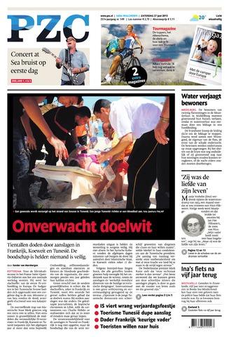 Provinciale Zeeuwse Courant 2015-06-27
