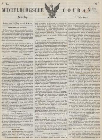 Middelburgsche Courant 1867-02-16