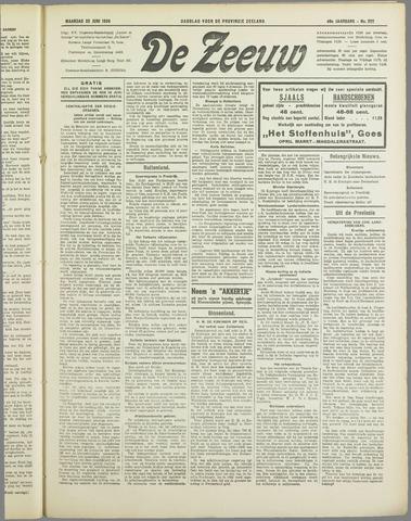 De Zeeuw. Christelijk-historisch nieuwsblad voor Zeeland 1934-06-25