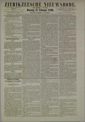 Zierikzeesche Nieuwsbode 1893-02-21