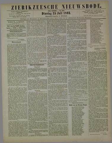 Zierikzeesche Nieuwsbode 1893-07-25
