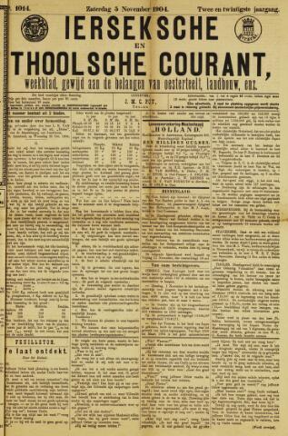 Ierseksche en Thoolsche Courant 1904-11-05