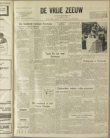 de Vrije Zeeuw 1958-09-08