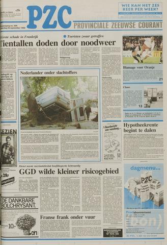 Provinciale Zeeuwse Courant 1992-09-24