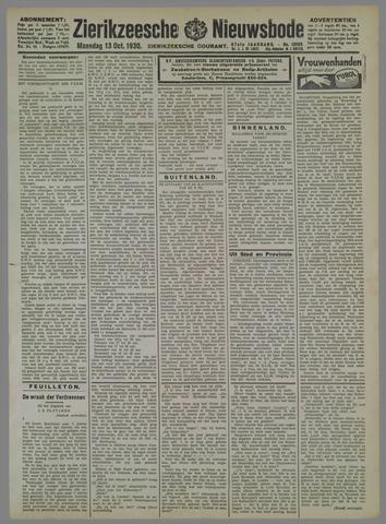 Zierikzeesche Nieuwsbode 1930-10-13